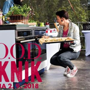 F.O.O.D. piknik 2018 v neděli 2. září na pražské Ladronce