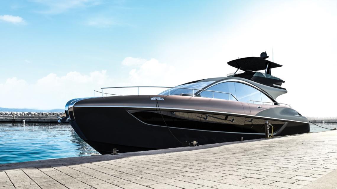 Lexus představil první exkluzivní obrázky jachty LY 650. Na celek si ještě musíme počkat
