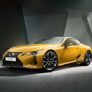Dva roky práce. Návrháři žluté edice Lexus LC stvořili nový odstín