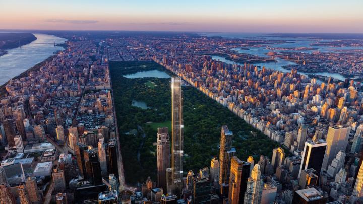Central Park Tower zahajuje prodej nejpozoruhodnějších rezidencí, jaké kdy byly prodávány v New Yorku