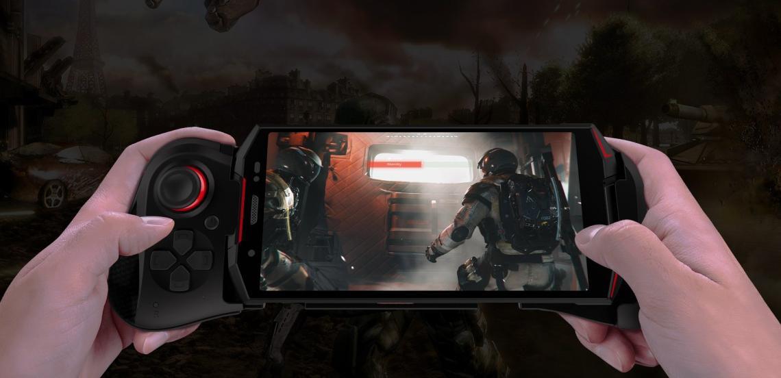 Představuje se první herní smartphone s gamepadem na světě: DOOGEE S70