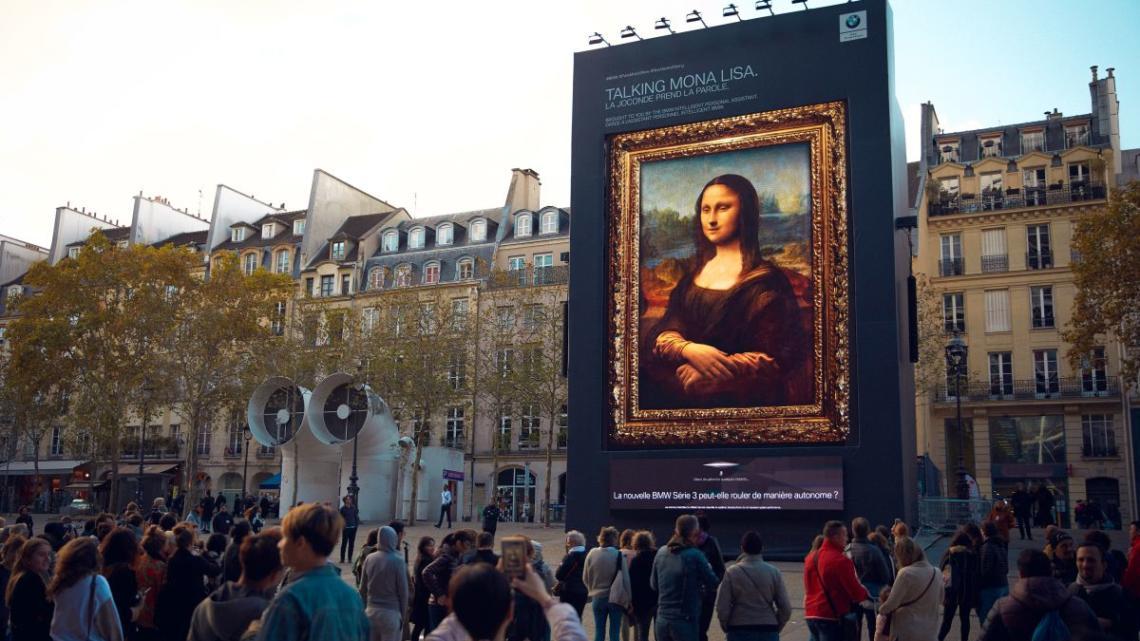 """""""Hej, Mono Liso…"""": BMW upozorňuje slavným obrazem na svůj nový osobní asistent"""