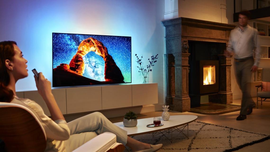 Philips představuje nové OLED televizory série 803 s 55 a 66palcovými úlopříčkami