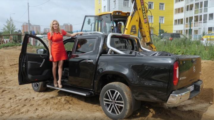 Tak trochu jiná recenze pick-upu Mercedes-Benz třídy X