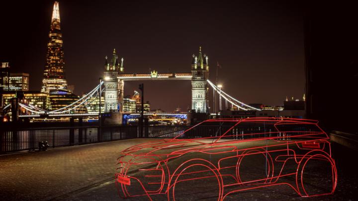Umělecké instalace zahajují odpočítávání do světové premiéry zcela nového Range Roveru Evoque