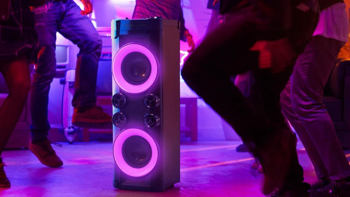 Nový reproduktor Energy Party 6: Hudba, světla, akce