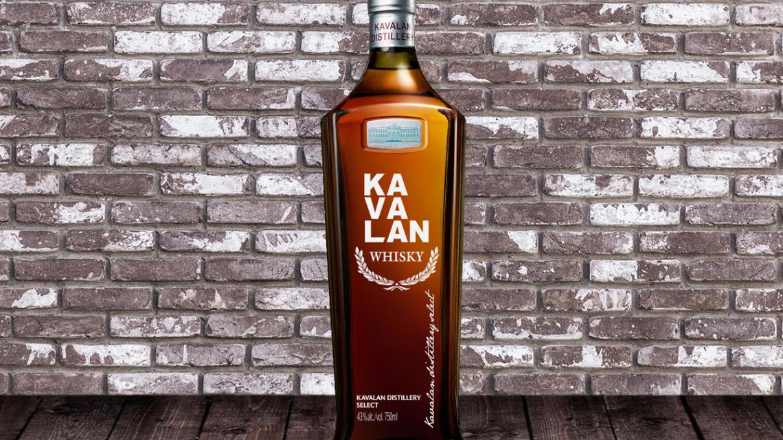 Je čas vyzkoušet Kavalan s whisky Distillery Select