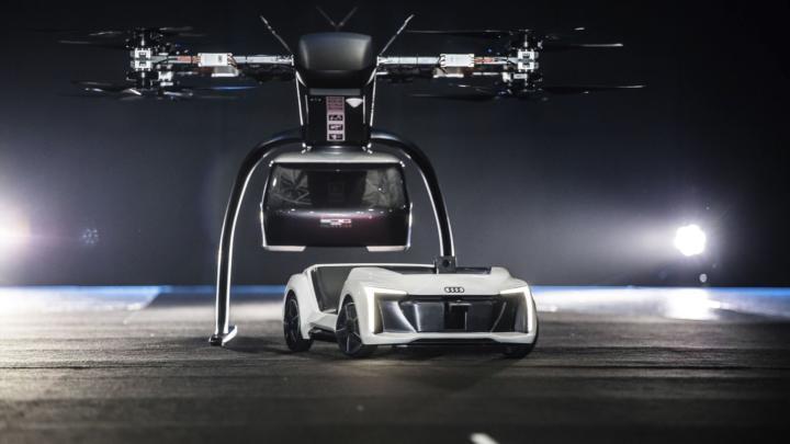 Audi, Airbus a Italdesign testují koncept pro leteckou taxislužbu
