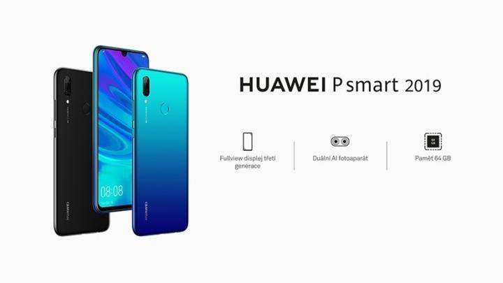 Huawei P smart 2019 nabídne opravdu působivou výdrž baterie