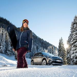 Svaz lyžařů ČR má nového partnera. Ledecká, Samková a další budou jezdit v Toyotách