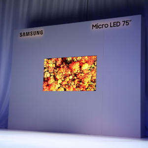 "Samsung ukázal na veletrhu CES 75"" a 219"" Micro LED TV The Wall"