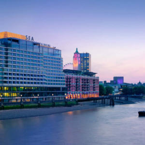 Z hotelu Mondrian London bude Sea Containers London
