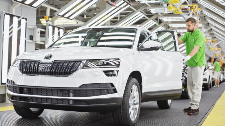 ŠKODA AUTO vyrobila v České republice v roce 2018 více vozidel než kdykoliv předtím