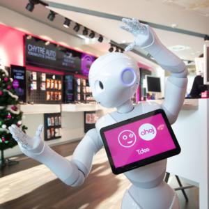 T-Mobile představuje prvního robota v Česku, se zákazníky bude komunikovat perfektní češtinou