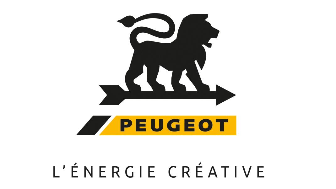 Logo Peugeot-Carré-Fond blanc-2019-baseline