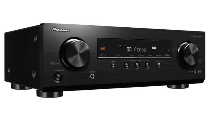 Nový nízký AV receiver Pioneer nabídne množství vstupů a podporu Dolby Atmos i DTS:X