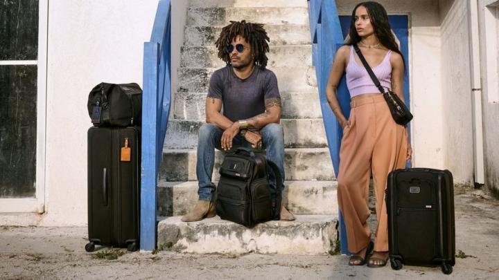Lenny Kravitz s dcerou Zoë jsou tvářemi celosvětové lifestylové kampaně TUMI