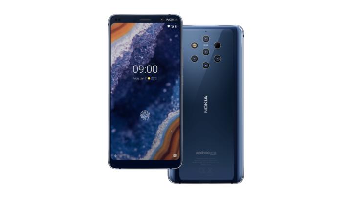 Nokia 9 PureView: první telefon s pěti hlavními fotoaparáty ZEISS na světě. Na český trh zamíří v druhé půli března