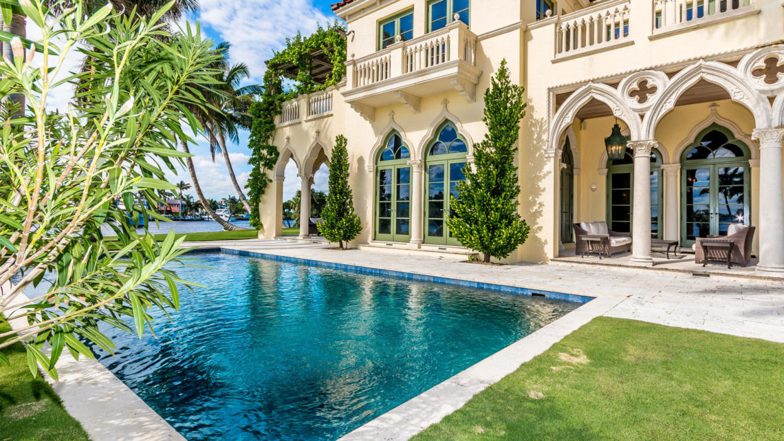 Na prodej je dům na soukromém vyvýšeném Las Olas Isles. Odhad ceny je 36,25 milionu dolarů