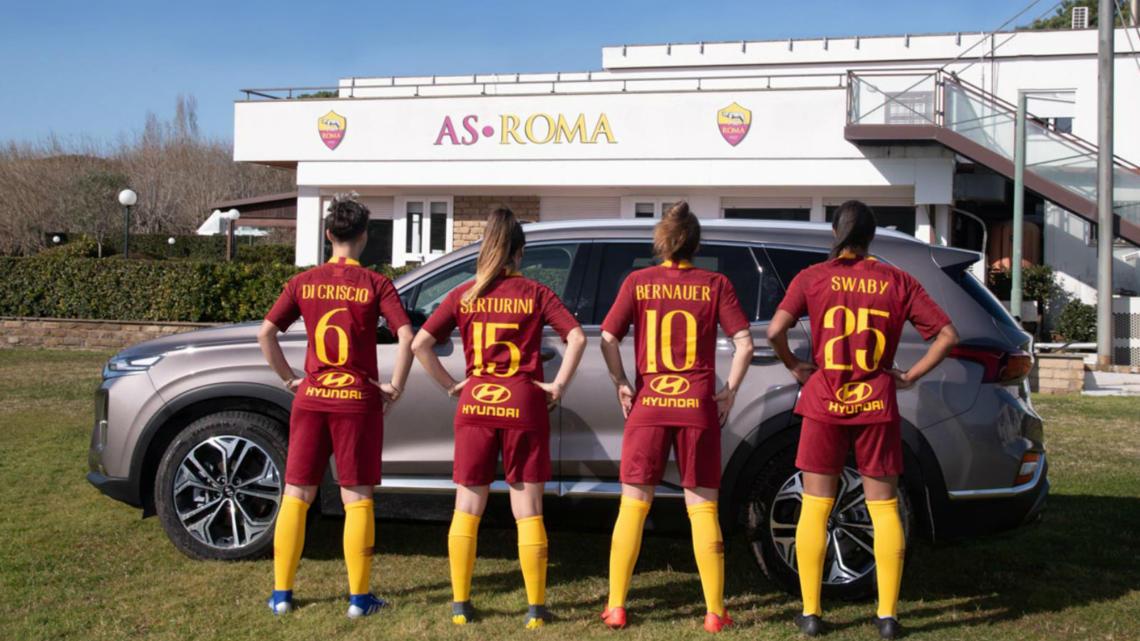 Ženský fotbalový klub AS Roma Women má nového oficiálního partnera