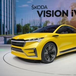 Čistě elektrická ŠKODA VISION iV nabízí pohled na elektrickou budoucnost značky ŠKODA