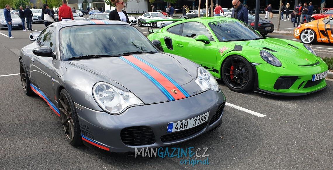 U pražské Ruzyně se včera konal sraz Porsche [fotogalerie]