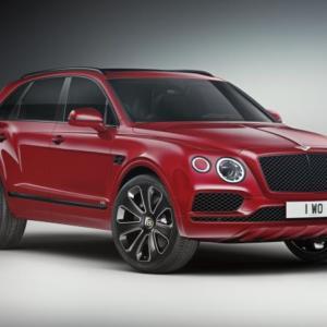 Bentley představuje nový model Bentayga V8 Design Series