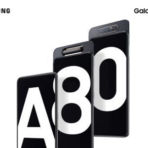 Samsung Galaxy A80 představen. Přichází s výsuvným a otočným fotoaparátem