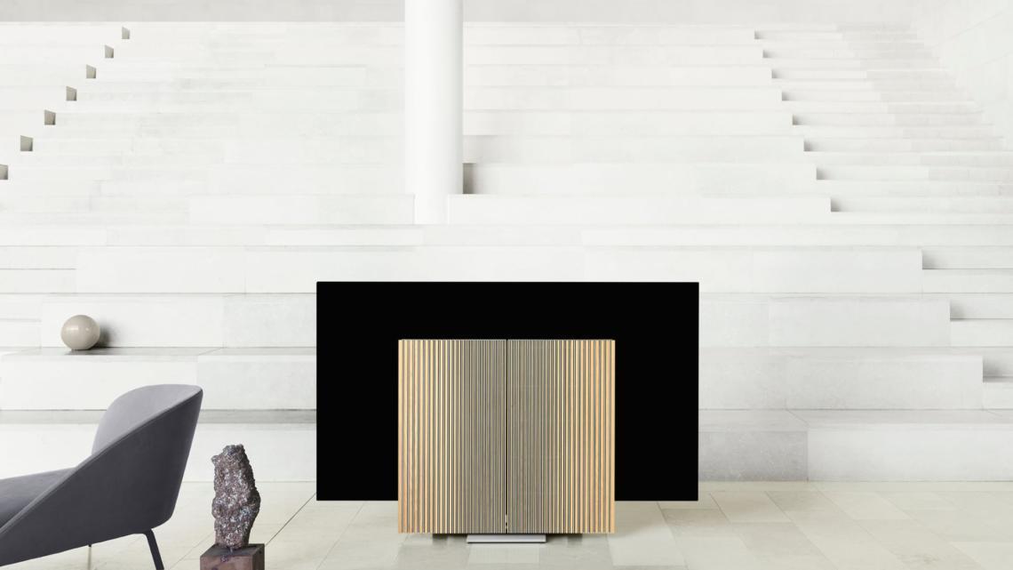 Bang & Olufsen představil na Milan Design Week televizní set Beovision Harmony