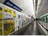 Ocenění za design pro novou úpravu stanice metra Javel – André Citroën v Paříži