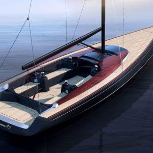 Peugeot Design Lab a LATITUDE 46 spojily své síly pro vytvoření designu plachetnice Tofinou 9.7