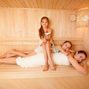Finská sauna pečuje o zdraví vaší rodiny