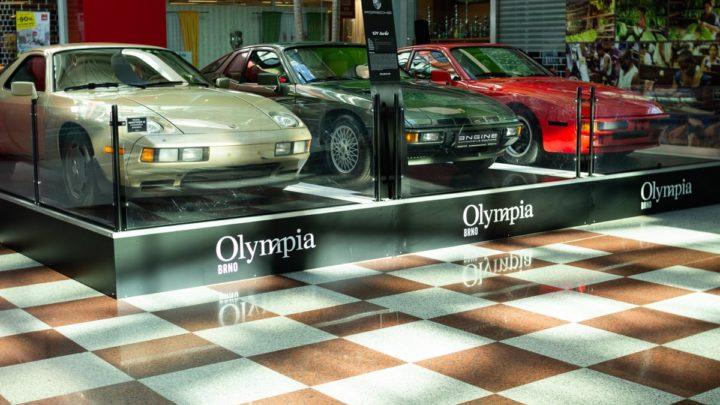 Výstava vozů Porsche vOlympii nabídne závěrečný víkendový program