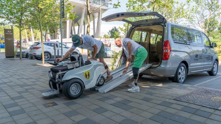 Hyundai je první oficiální přepravce České golfové asociace hendikepovaných