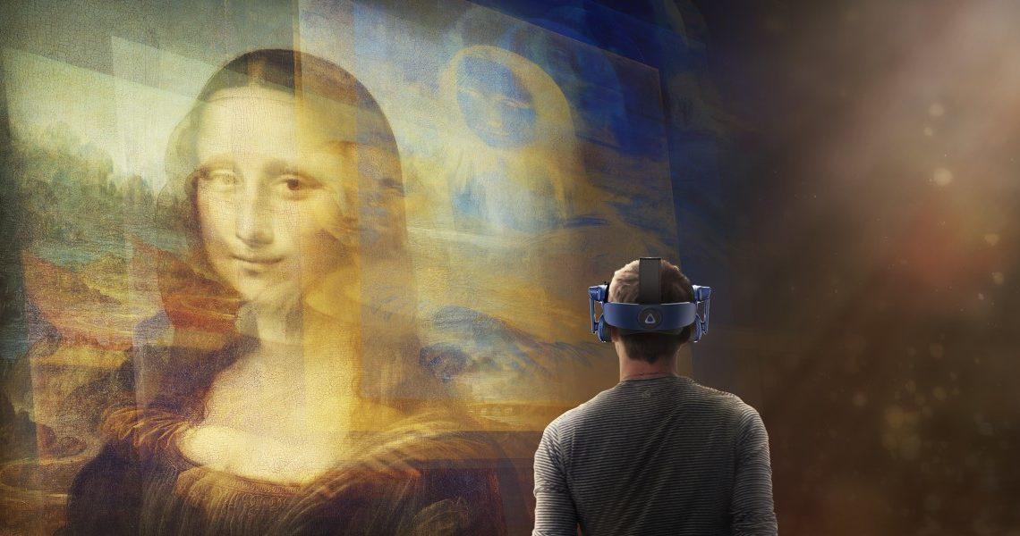 HTC Vive a muzeum Louvre představí VR zážitek Mona Lisa: Beyond the Glass