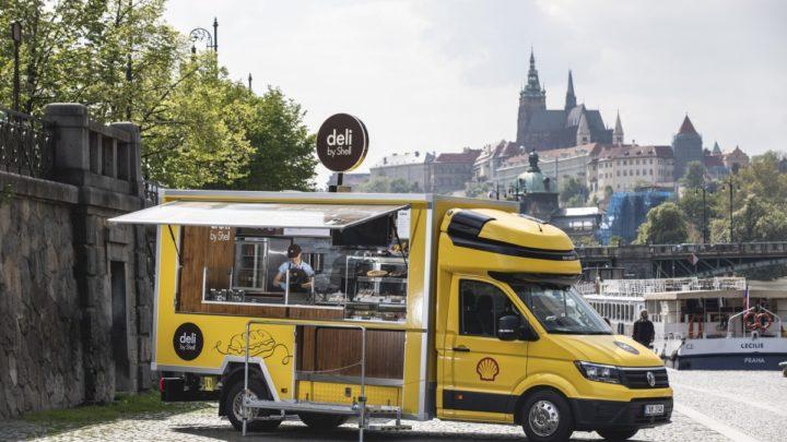 'Food Truck Deli by Shell' nabídne občerstvení i mimo čerpací stanice