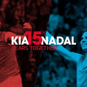 Rafael Nadal je už 15 let ambasadorem značky Kia