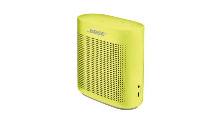 Bose SoundLink Color II v nepřehlédnutelné letní edici Citron