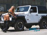 Fotogalerie: Kiara a Jeep Wrangler Rubicon