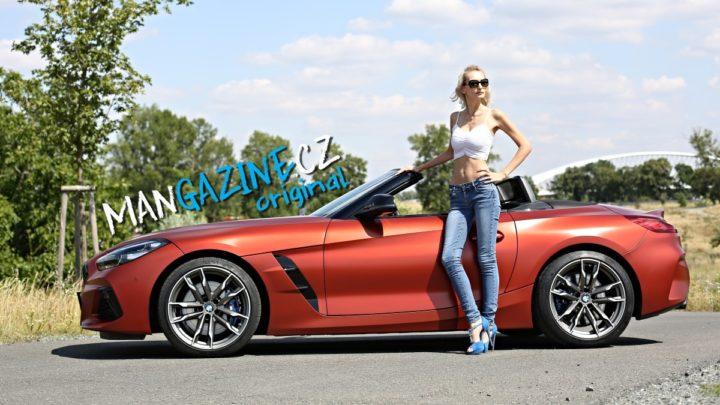 Fotogalerie: Leňulka a BMW Z4