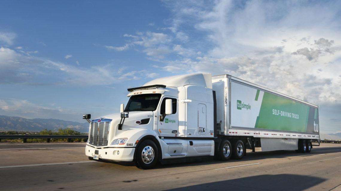 UPS investuje do přepravce s autonomními vozidly TuSimple a testuje samořiditelné tahače