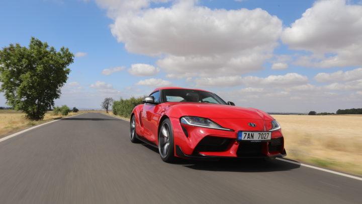 Toyota GR Supra získala prestižní německou cenu Golden Steering Wheel