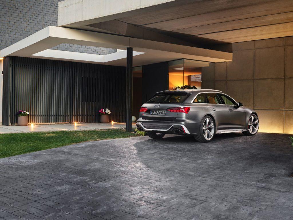 Audi RS 6 Avant Static photo Color: daytonagray matt