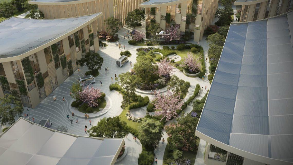 Toyota postaví prototyp města budoucnosti