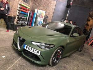 Alfa Romeo Military Green